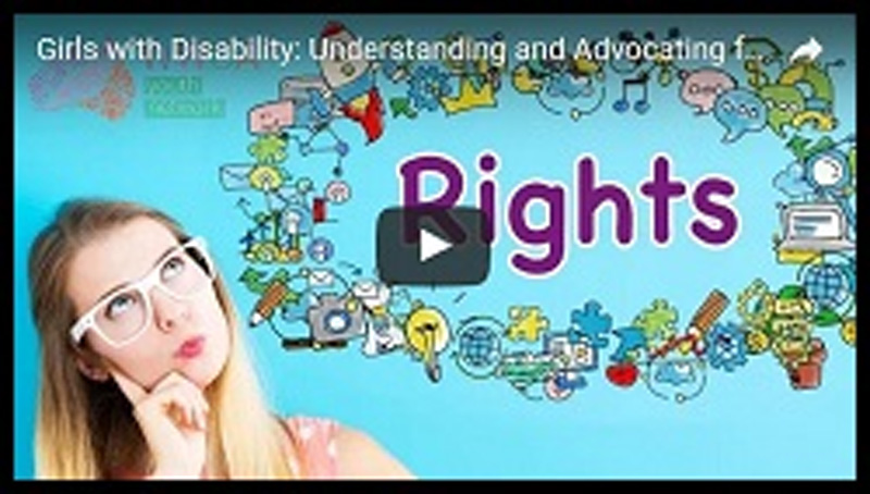 Understanding and Advocating For Your Rights: Girls with Disability