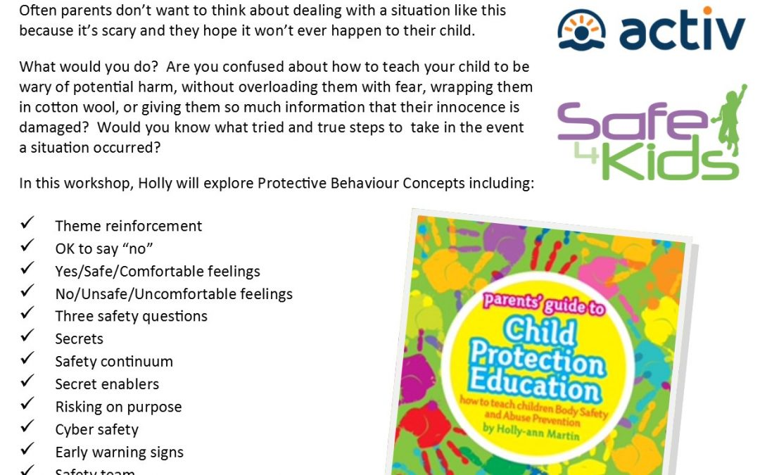 How to teach children:  Body Safety & Abuse Prevention: Wembley