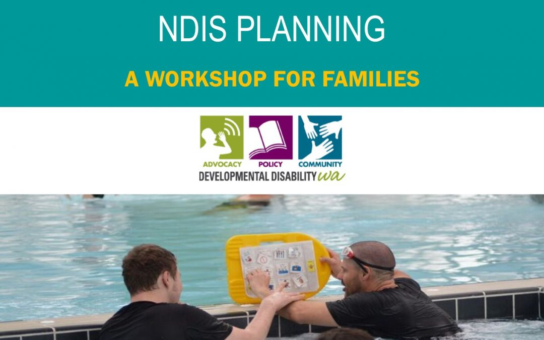 NDIS Planning for people who are non verbal & have developmental disability: Bassendean