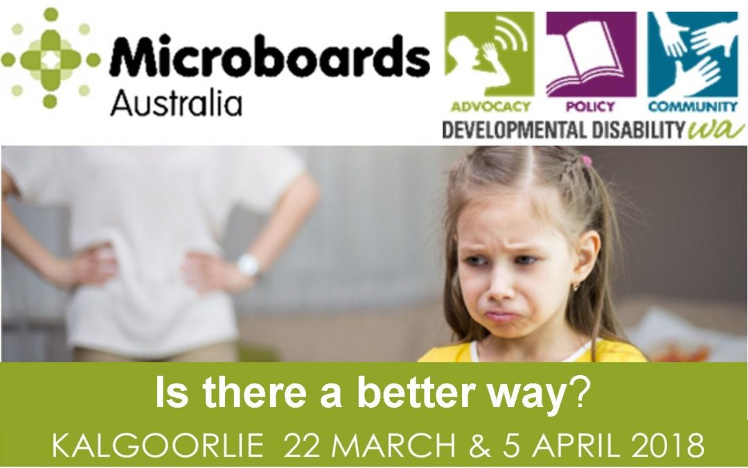 Microboards:  Is There a Better Way? Using Positive Behaviour Support