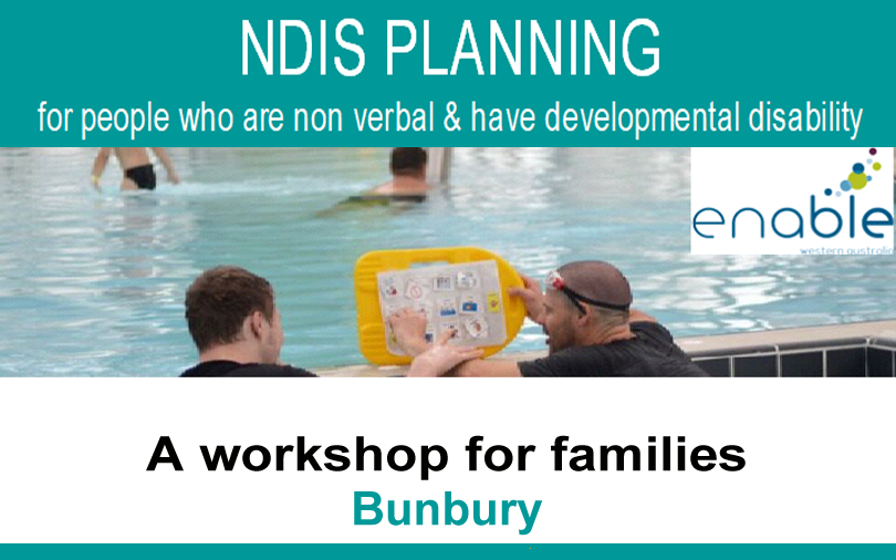 NDIS Planning for people who are non verbal & have developmental disability: Bunbury