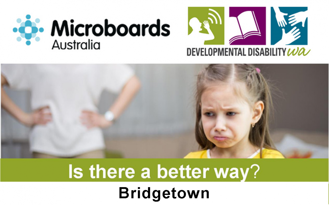 Microboards:  Is There a Better Way? Using Positive Behaviour Support: Bridgetown