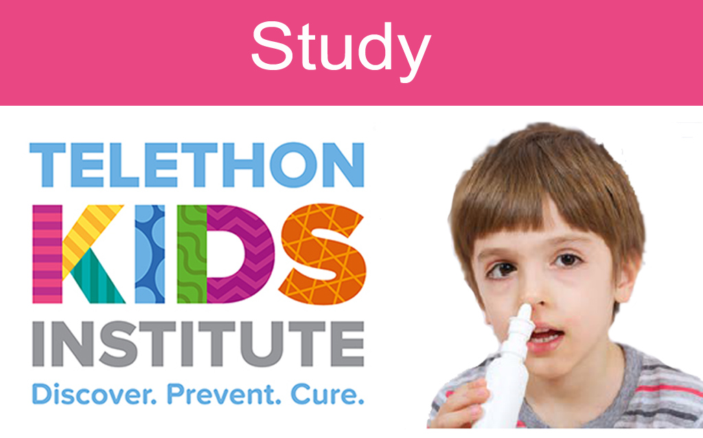 Telethon Kids Institute:  Autism Research Team – Studies