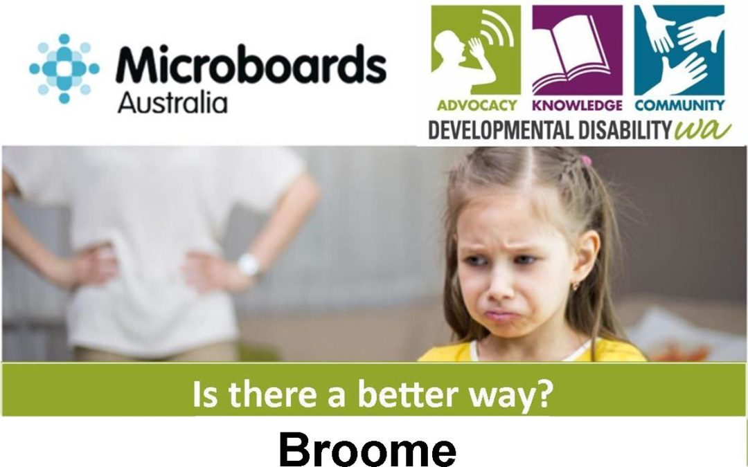 Is There a Better Way? Using Positive Behaviour Support: Broome