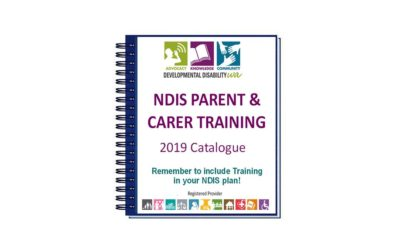 DDWA's NDIS Parent / Carer Training 2019:  10 training courses