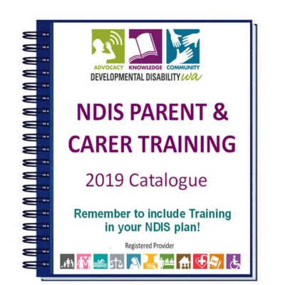 DDWA's NDIS Parent / Carer Training