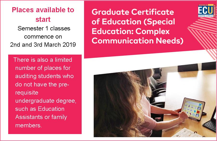 ECU: Graduate Certificate in Education
