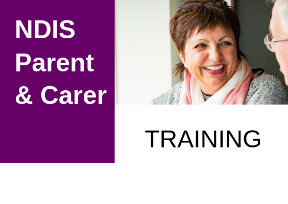DDWA's NDIS Parent / Carer Training 2019 Catalogue
