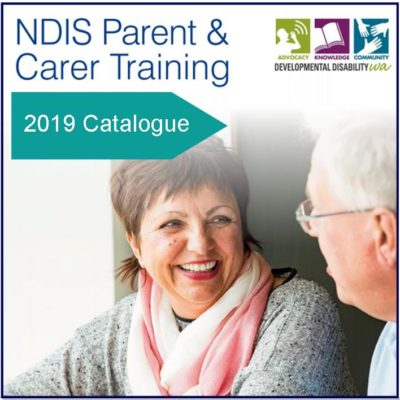 DDWA's NDIS Parent & Carer Training