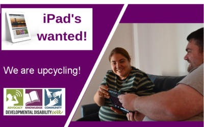 Upcycled iPad's: DDWA Initiative to Distribute 100 iPad's