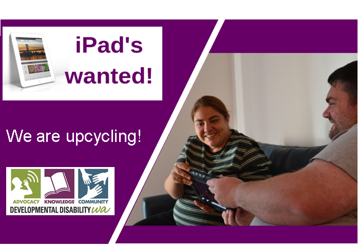 Upcycled iPad's: DDWA Initiative to Distribute 100 iPad's