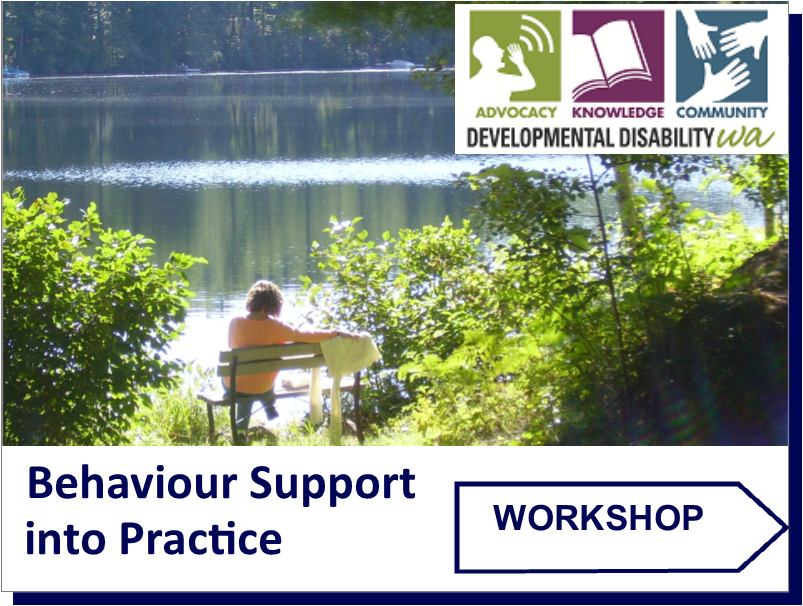 NDIS Behaviour Support / Side by Side: Weekend Workshop