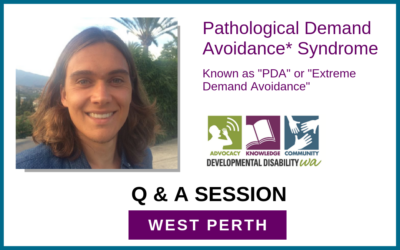 Pathological Demand Avoidance Syndrome: Q & A for Families BOOKED OUT