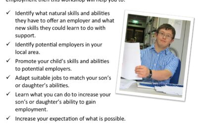 Getting your son or daughter into work (Mandurah workshop)