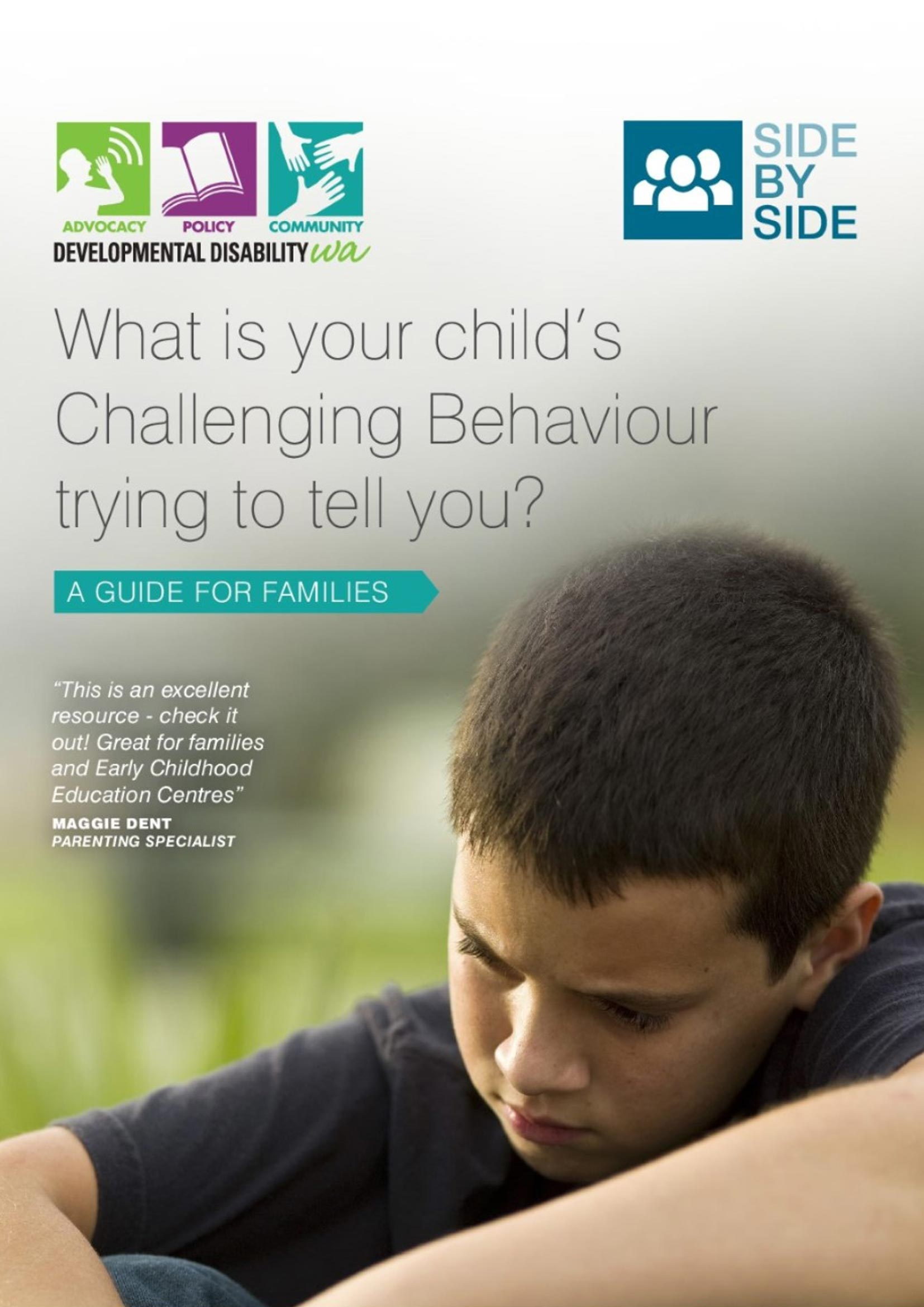 What is your child's challenging behaviour trying to tell you?