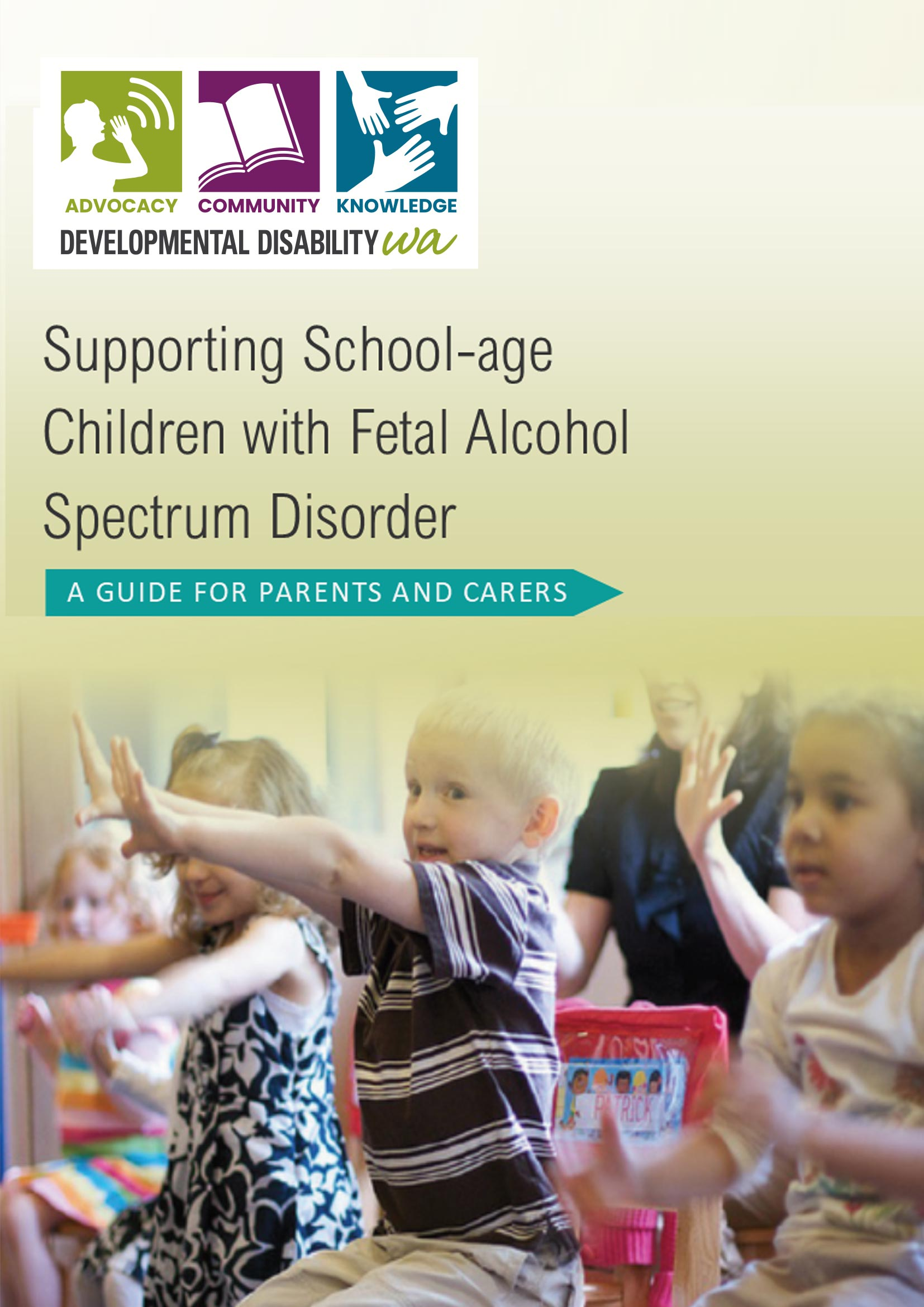 Fetal Alcohol Spectrum Disorder PDF cover