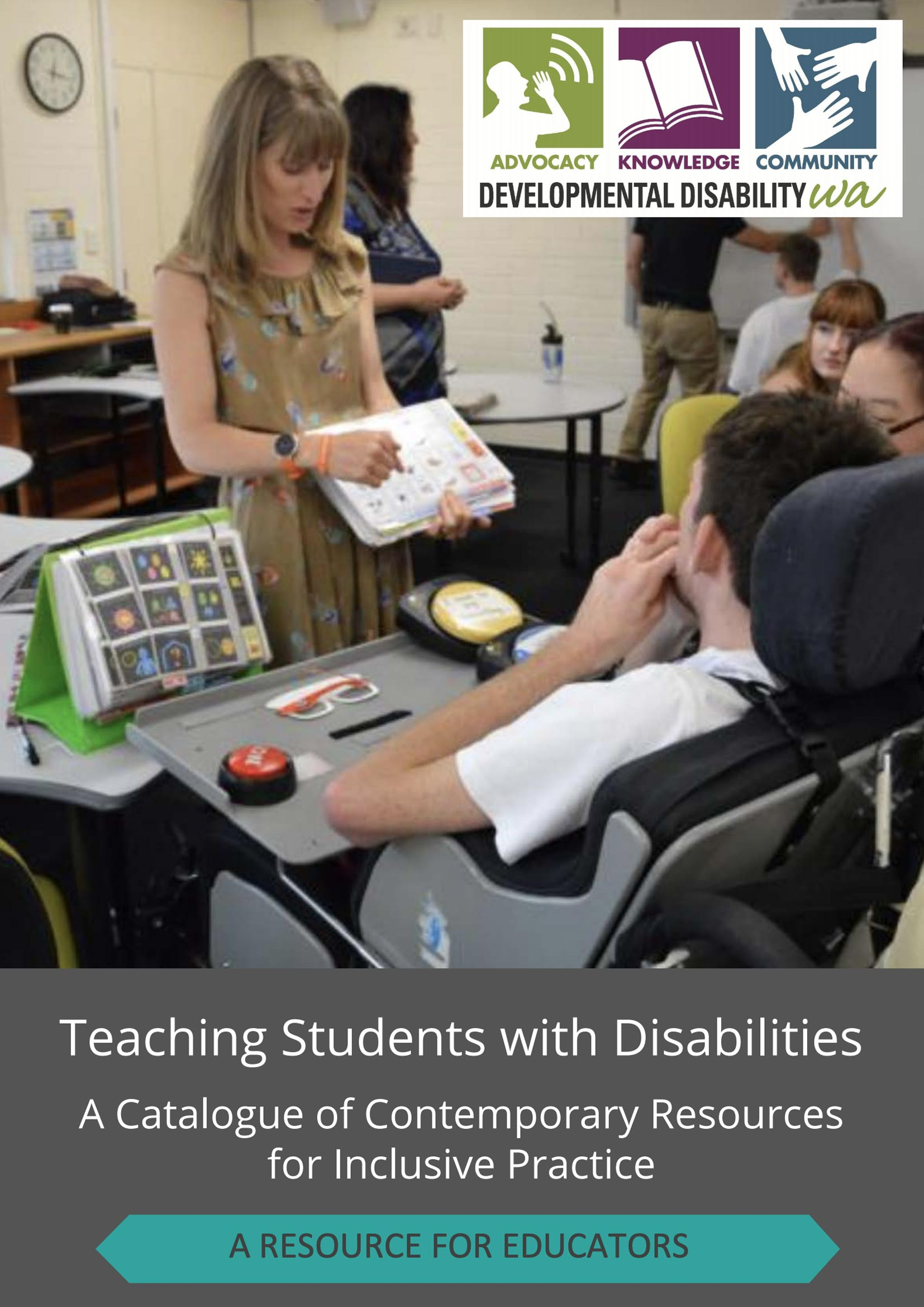 Teaching Students with Disabilities cover