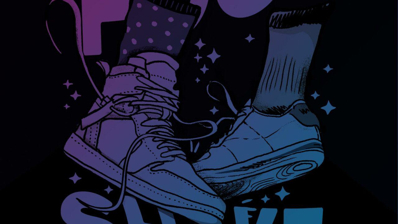 Foot Shake Illustration