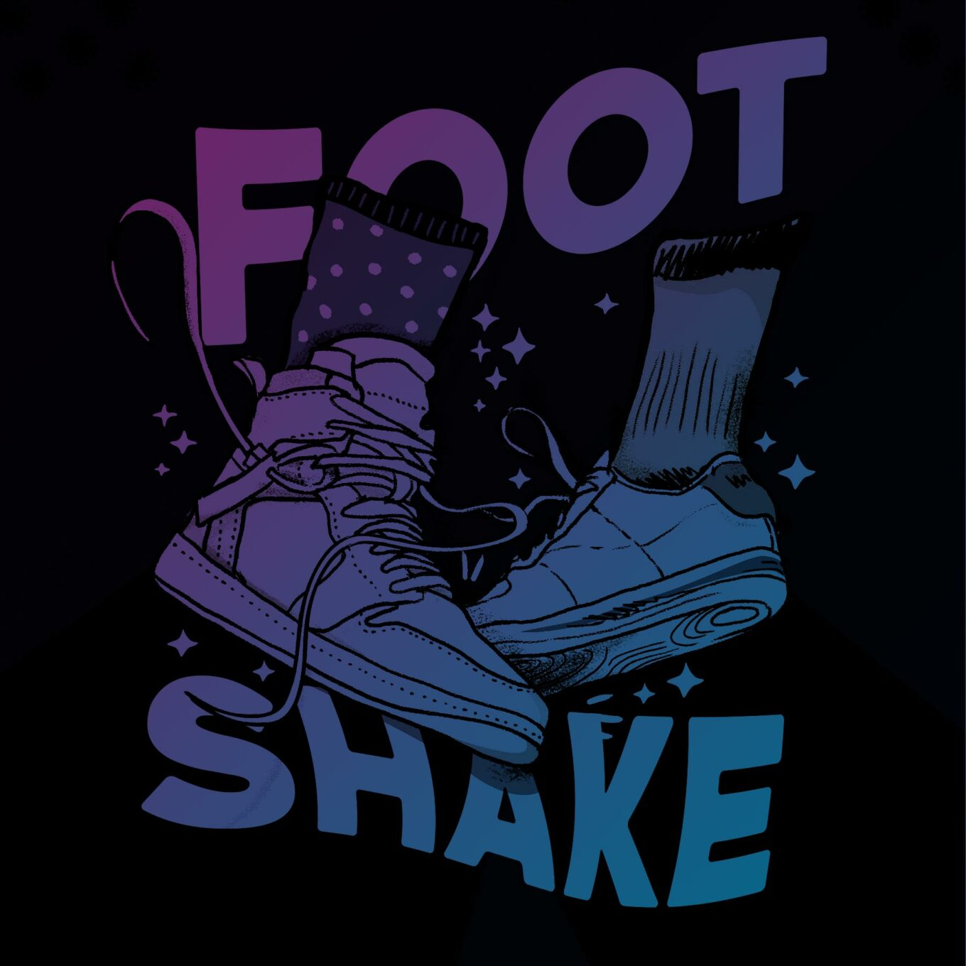 Foot Shake Illustration