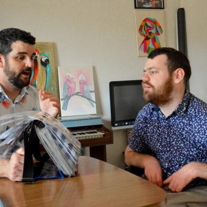 Dan and Garth Animated-talking
